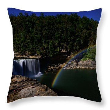 Night Lights Throw Pillow