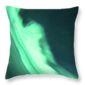 Night Lines Throw Pillow
