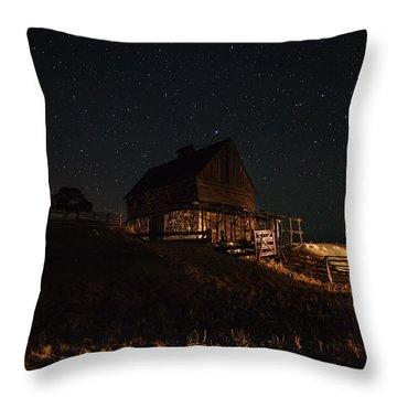 Night Magic  Throw Pillow