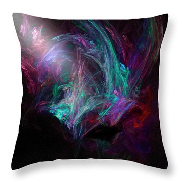 Night Throw Pillow by Michael Durst