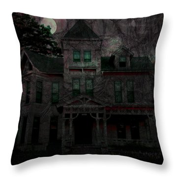 Night Throw Pillow by Mimulux patricia no No