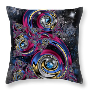 Night Moves Throw Pillow by Kim Redd
