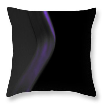 Night Music Throw Pillow by Lin Haring