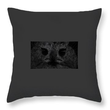 Night Night Throw Pillow