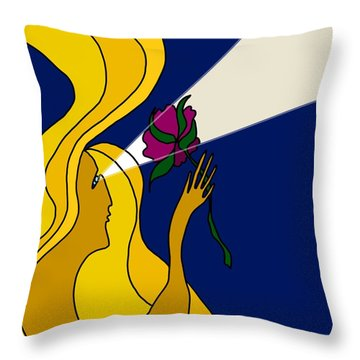 Night Offering Throw Pillow