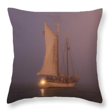 Night Passage Throw Pillow