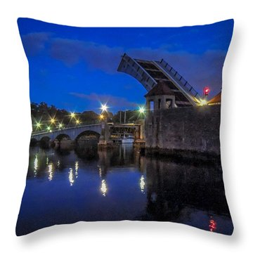 Night Passage Throw Pillow by Glenn Feron