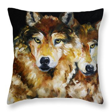 Night Power Throw Pillow