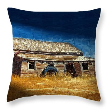 Throw Pillow featuring the photograph Night Shift by Susan Kinney