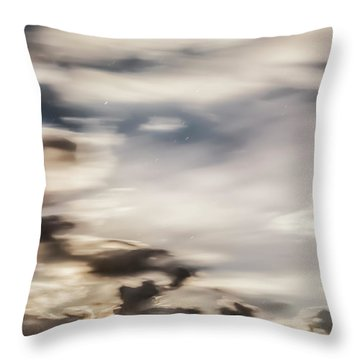 Night Sky 2 Throw Pillow by Leland D Howard