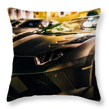 Night Soul Throw Pillow