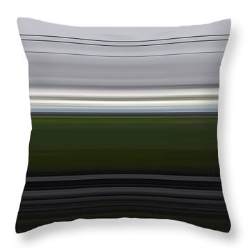 Night Trip Throw Pillow