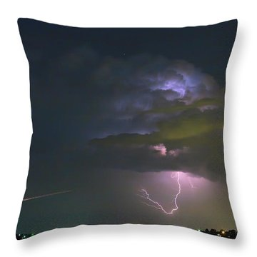 Throw Pillow featuring the photograph Night Tripper by James BO Insogna