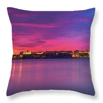 Throw Pillow featuring the photograph Night Unto Day by Edward Kreis