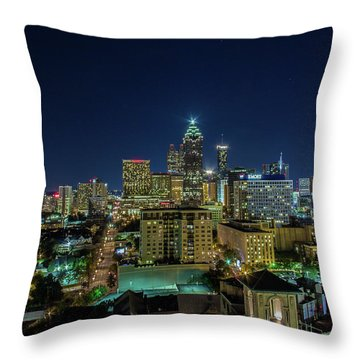 Night View 2 Throw Pillow