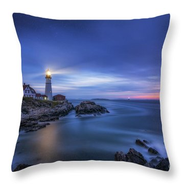 Throw Pillow featuring the photograph Night Watch  by Michael Ver Sprill