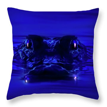 Night Watcher Throw Pillow by Mark Andrew Thomas