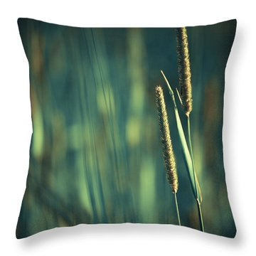 Night Whispers Throw Pillow by Aimelle