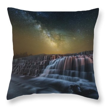 Nightfall 2 Throw Pillow