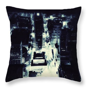 Blue Pill Throw Pillow