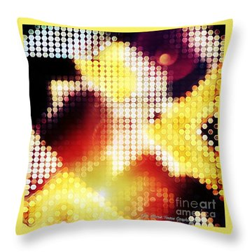 Nightly Cascade Throw Pillow