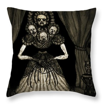 Nightmare Dolly - Artwork Throw Pillow