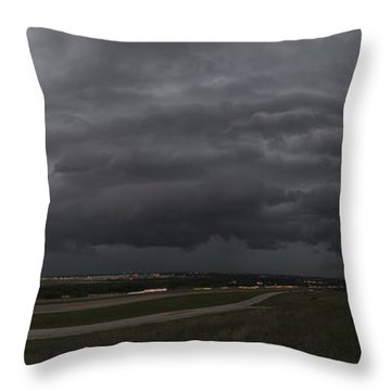 Nightmare Storm Throw Pillow