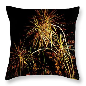 Throw Pillow featuring the photograph Nightmares Are Made Of This by Al Bourassa