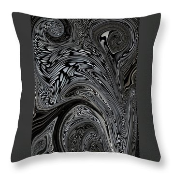 Nightmares Throw Pillow