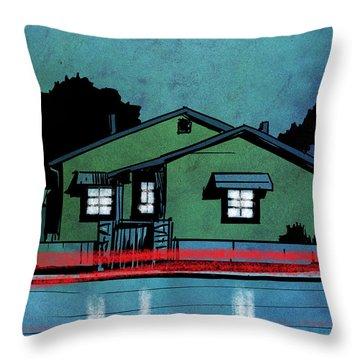 Nightscape Throw Pillows