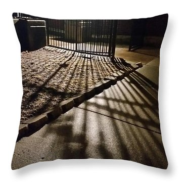 Nightshadows Throw Pillow