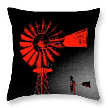 Nightwatch Throw Pillow by Wendy J St Christopher