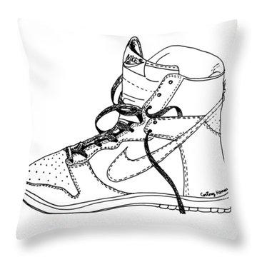 Nike Dunk 001 Throw Pillow