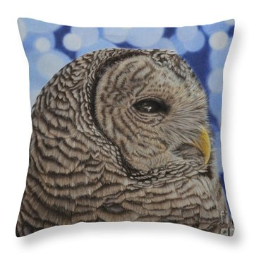 Nikita Throw Pillow by Jennifer Watson