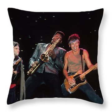 Nils Clarence And Bruce Throw Pillow