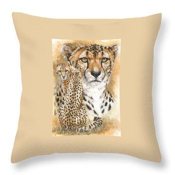 Nimble Throw Pillow by Barbara Keith