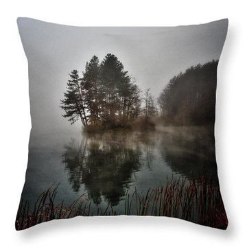 Nimisila Reflections Throw Pillow
