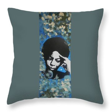 Nina Nina Throw Pillow