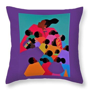 Nina The High Priestess Throw Pillow