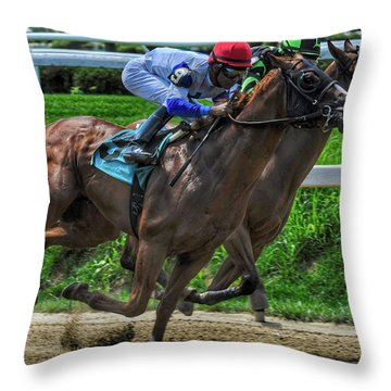 Nine Gaining Throw Pillow