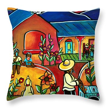 Ninos Throw Pillow