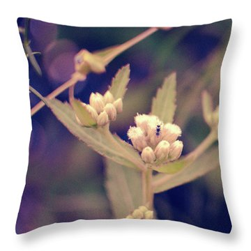 Nip It In The Bud Throw Pillow
