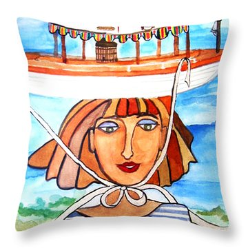 Nipissing Throw Pillow