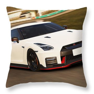 Nissan Gt-r Nismo - 02  Throw Pillow
