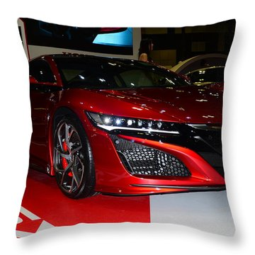 Honda Nsx Throw Pillow
