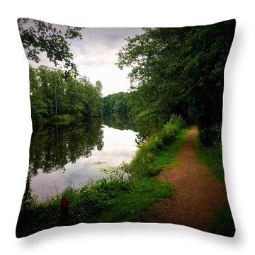 Nissan River Rapids 1 Throw Pillow