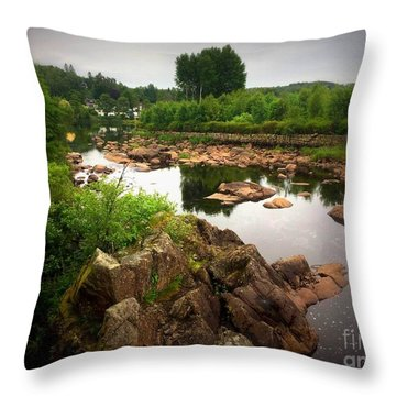 Nissan River Rapids 2 Throw Pillow