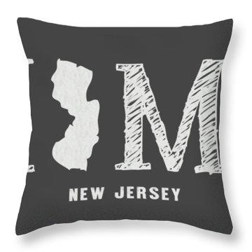 Nj Home Throw Pillow
