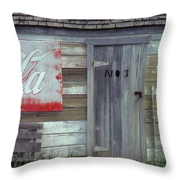 No. 3 Throw Pillow by Laurie Stewart