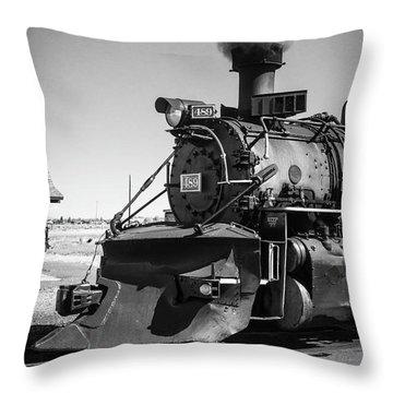 No. 489 Engine Throw Pillow